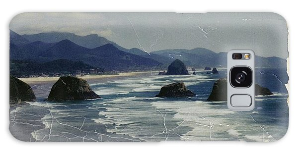 Ecola Sea Stacks Galaxy Case
