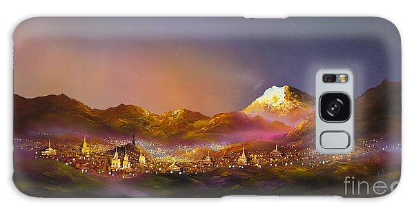Ecuadorian Art Scene Galaxy Case
