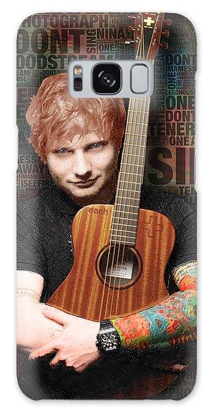 Ed Sheeran And Song Titles Galaxy Case