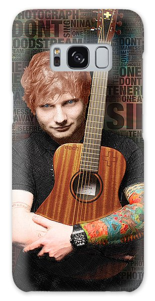 Ed Sheeran And Song Titles Galaxy Case