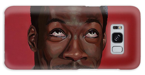 People Galaxy Case - Eddie Murphy Painting by Paul Meijering