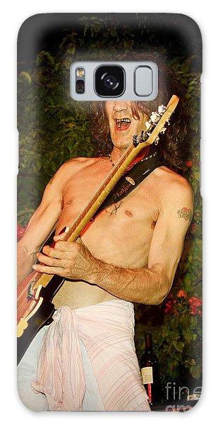 Eddie Van Halen Galaxy Case by Nina Prommer