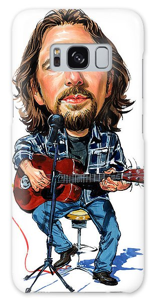 Pearl Jam Galaxy Case - Eddie Vedder by Art