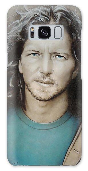 Pearl Jam Galaxy Case - Eddie Vedder by Christian Chapman Art