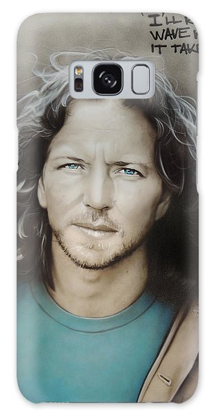 People Galaxy Case - Eddie Vedder by Christian Chapman Art