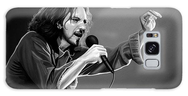 Pearl Jam Galaxy Case - Eddie Vedder  by Meijering Manupix