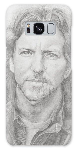 Pearl Jam Galaxy Case - Eddie Vedder by Olivia Schiermeyer