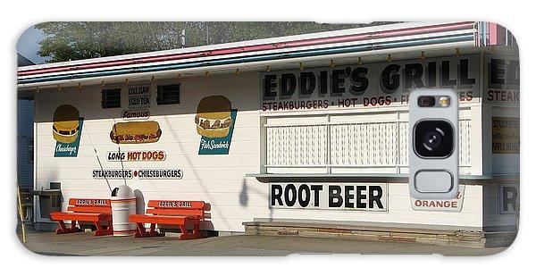 Eddie's Grill Galaxy Case by Michael Krek