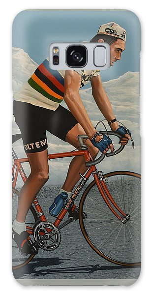 Sportsman Galaxy Case - Eddy Merckx by Paul Meijering