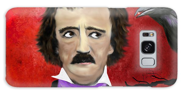 Edgar Allan Poe And The Raven Galaxy Case