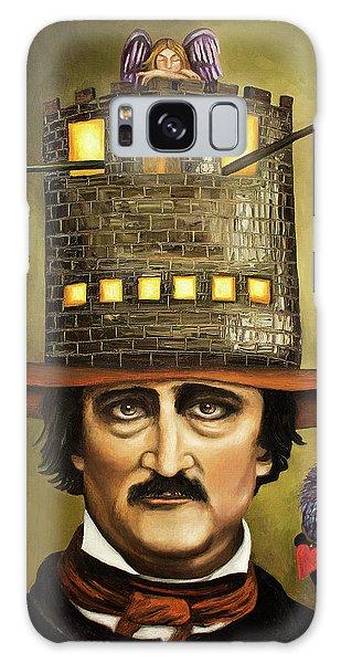 Edgar Allan Poe Galaxy Case by Leah Saulnier The Painting Maniac