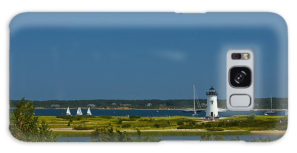 Edgartown Lighthouse Galaxy Case