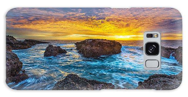 Ocean Sunset Galaxy S8 Case - Edge Of North America by Robert Bynum