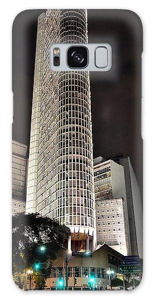 Edificio Italia By Night Galaxy Case