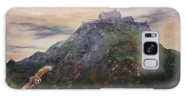 Edinburgh Castle Scotland Galaxy Case
