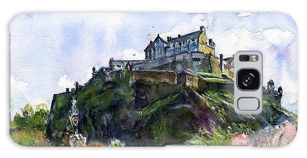 Edinburgh Castle Scotland Galaxy Case by John D Benson