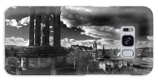 Edinburgh From Calton Hill Galaxy Case
