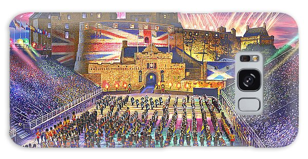 Fireworks Galaxy Case - Edinburgh Military Tatoo by MGL Meiklejohn Graphics Licensing