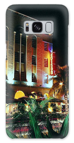 Edison Hotel Film Image Galaxy Case