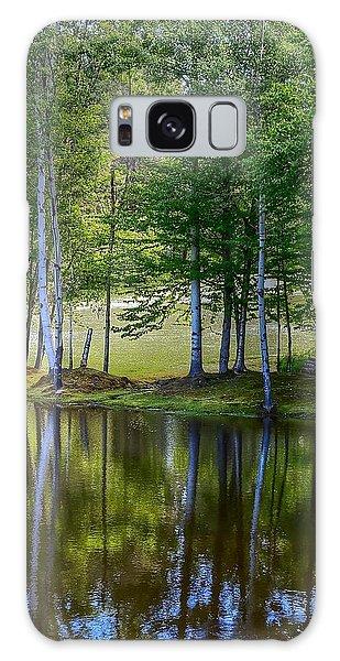 Edson Hill Reflections Galaxy Case by John Nielsen