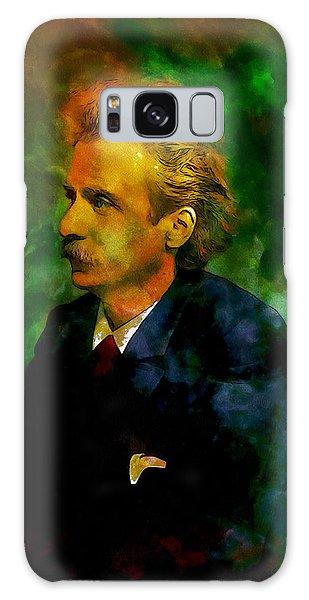 Edvard Grieg Galaxy Case by Kai Saarto