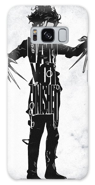 Edward Scissorhands - Johnny Depp Galaxy S8 Case