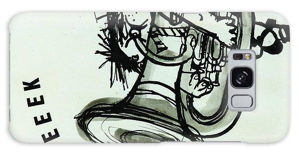 Trombone Galaxy Case - Eeeeeeek! Ink On Paper by Brenda Brin Booker