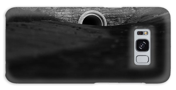 Eerie Tunnel Galaxy Case