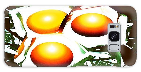 Eggs For Breakfast Galaxy Case