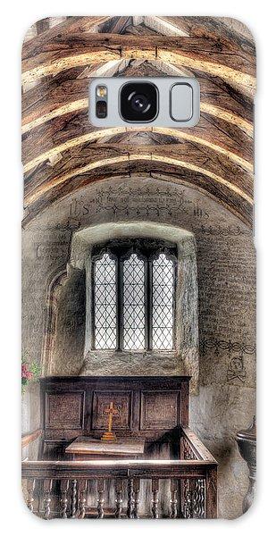 Banister Galaxy Case - Eglwys Celynnin Sant by Adrian Evans