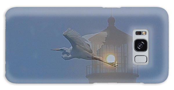 Egret At Hatteras Galaxy Case
