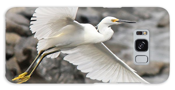 Egret Flight Galaxy Case