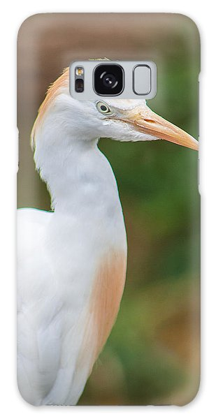 Egret From Madagascar Galaxy Case