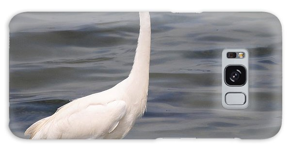 Egret On Alert Galaxy Case by Dan Williams