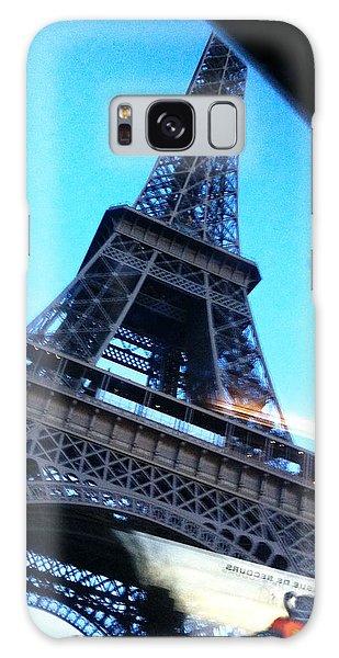 Eiffel In Motion Galaxy Case