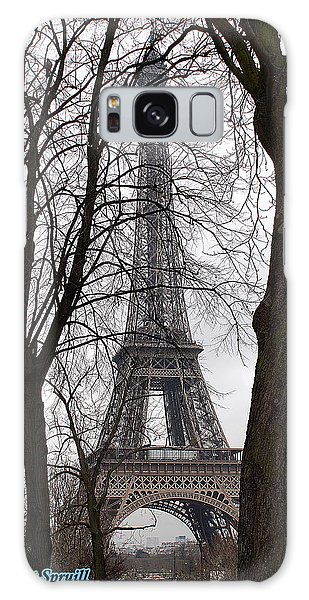 Eiffel Tower 4 Galaxy Case