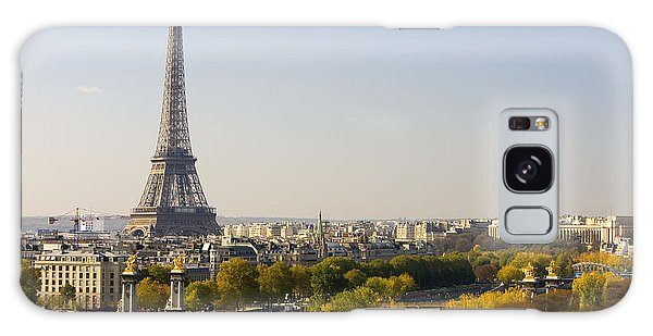 Paris France The Eiffel Tower Galaxy Case