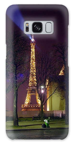 Eiffel Tower As A Lighthouse Galaxy Case