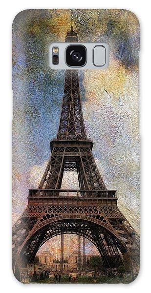 Eiffel Tower As Oil Galaxy Case