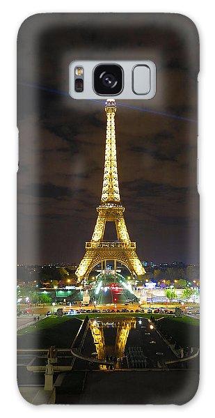 Eiffel Tower At Night 2013 Galaxy Case