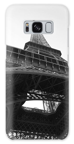 Eiffel Tower B/w Galaxy Case