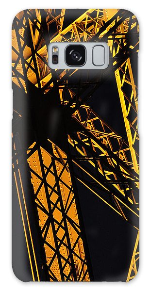 Eiffel Tower Detail Galaxy Case