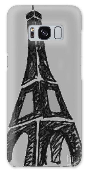Eiffel Tower Graphic Galaxy Case