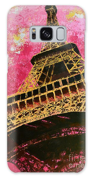 Eiffel Tower Iconic Structure Galaxy Case