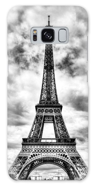 Eiffel Tower In Paris 3 Bw Galaxy Case