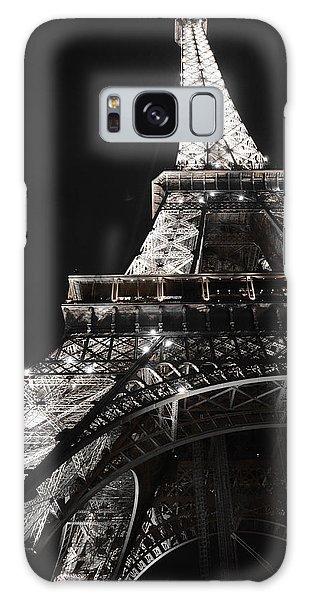 Eiffel Tower Paris France Night Lights Galaxy Case