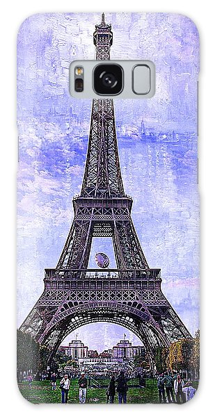 Eiffel Tower Paris Galaxy Case