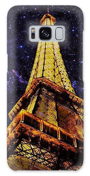 Eiffel Tower Photographic Art Galaxy Case