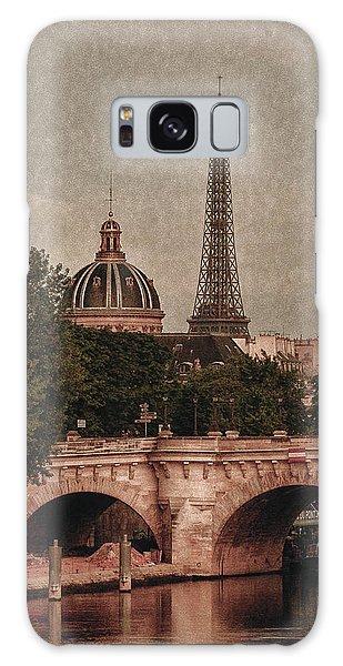 Eiffeltower With Pont Neuf Galaxy Case