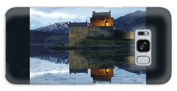 Eilean Donan Castle At Dusk Galaxy Case